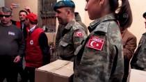 KIZILHAÇ - Türk Kızılayından Kosovalı Ailelere Yardım