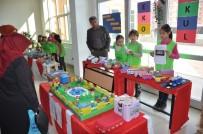 'Yeşil Bayrak' Ödülü İçin Geri Dönüşüm Ürünlerinden Sergi Açtılar