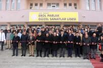 SÜLEYMAN ELBAN - Ağrı'da Erol Parlak Güzel Sanatlar Lisesi Açıldı