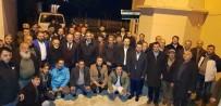 AK Parti Sürmene Belediye Başkan Adayı Rahmi Üstün, Seçim Çalışmalarını Sürdürüyor