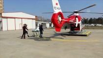Ambulans Helikopter Hamile Kadın İçin Havalandı