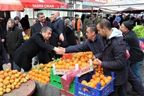 ULUKENT - Başkan Adayı Şekerdağ, Milletvekili Erol'la Seçim Çalışmalarına Devam Ediyor