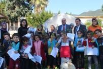 TEKMEN - Bozyazı'da Anasınıfı Öğrencileri, Okul Bahçesine Çiçek Dikti