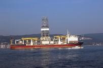 'Deepsea Metro-1' Çanakkale Boğazı'ndan Geçti