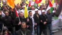 SES BOMBASI - El Halil'deki Gösteriye İsrail Müdahalesi