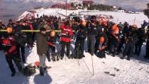 Ergan Dağı'nda Gerçeğini Aratmayan Çığ Tatbikatı