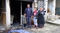 SÜLEYMAN ŞAH - İş Yeri Kül Olan Berber Yardım Bekliyor