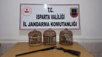 Isparta'da Kaçak Avcılara 20 Bin 150 Lira Ceza
