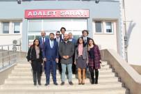 Mersin Barosu, Yönetim Kurulu Toplantısını Anamur'da Yaptı