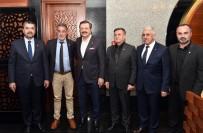 Tunceli TSO'dan Başkan Hisarcıklıoğlu'na  Ziyaret