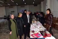 ALıŞVERIŞ - Yöresel Ürünler Pazarında İlk Siftah Başkan Can'dan
