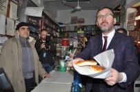 Bakan Kasapoğlu'ndan Esnaf Ziyareti
