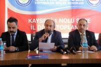 EĞITIM BIR SEN - Başkan Kalkan Açıklaması 'Kamuda Sözleşmeli İstihdam Modelinden Vazgeçilmesi Gerekiyor'