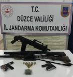 BEYKÖY - Jandarma Hırsız Kapanı Uygulamasında Silah Ele Geçirdi