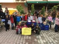 Anaokulu Öğrencileri Pazarda Tezgah Açıp, Sebze Ve Meyve Sattı.