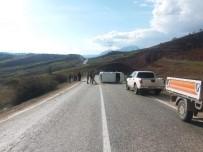 Giresun-Sivas Karayolunda Trafik Kazası Açıklaması 7 Yaralı