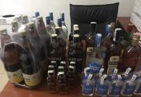 YENICEKÖY - İnegöl'de Kaçak İçki Ele Geçirildi
