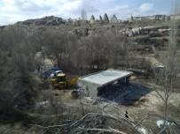 Kapadokya'da 3 Kaçak Yapı Daha Yıkıldı