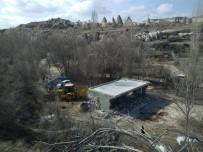 Kapadokya'da Bugün 3 Kaçak Yapı Daha Yıkıldı