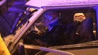 Kuzey Marmara Otoyolunda Feci Kaza Açıklaması 2 Yaralı