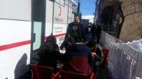 Pülümür'de  Kan Bağışına Destek
