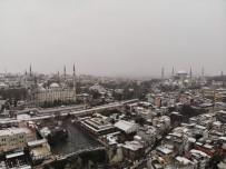 KUŞ BAKıŞı - Tarihi Yarımadanın Kar Manzarası Havadan Görüntülendi