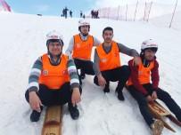 ALEYNA - Türkiye Geleneksel Kızak Şampiyonası Kahramanmaraş'ta Yapıldı