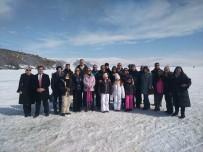 Büyükelçiler Çıldır Gölü'nde