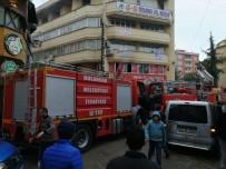 CHP Bulancak İlçe Başkanlığı'nda Çıkan Yangın Korkuttu