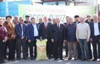 YEŞILTEPE - Ergene'de Gübre Atma Programı Düzenlendi