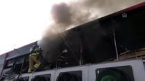 Aksaray'da sucuk fabrikasında yangın