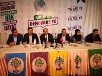 SABAHATTIN CEVHERI - HDP Saadet Partisi'nin Adayını Desteklemek İçin Adaylarını Geri Çekti