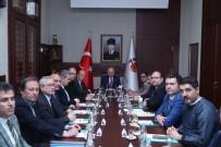 BEKİR ŞAHİN TÜTÜNCÜ - İl Spor Güvenlik Kurulu Toplantısı, Vali Çakacak'ın Başkanlığında Yapıldı