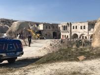 Kapadokya'da Bugün 7 Kaçak Yapı Daha Yıkıldı