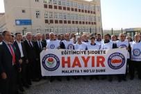 ÖĞRENCİ VELİSİ - Malatya'da Okul Müdürüne Darp İddiası