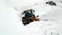Siirt'te Kar Yağışı Nedeniyle Köy Yollarına Ulaşım Sağlanamıyor