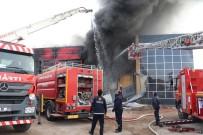 Sucuk Fabrikasında Korkutan Yangın