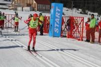 TÜRKIYE KAYAK FEDERASYONU - 260 Sporcunun Katıldığı Kayaklı Koşu Ligi 2. Etap Yarışları Başladı