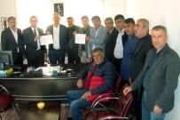 MEHMET DOĞAN - Araban Ziraat Odası Yeni Başkanı Altun, Mazbatasını Aldı