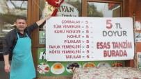KıYAMET - Balıkesirli Lokantacı Tanzim Satış Başlattı, Bütün Yemekler 5 Liraya İndi
