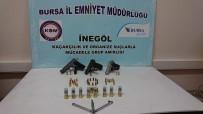 KAÇAK SİLAH - Bursa'da Kaçak Silah Operasyonu
