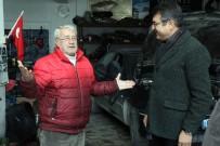 MEHMET ŞAHIN - Konacık Sanayi Esnafından Mehmet Tosun'a Büyük İlgi