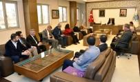 TEZAHÜR - MHP Selçuklu İlçe Teşkilatından Başkan Pekyatırmacı'ya Ziyaret