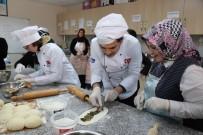 CEMİL MERİÇ - Öğrenciler KO-MEK Mutfağında Mancarlı Pide Yaptı