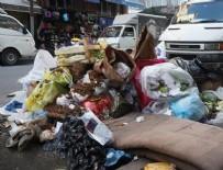 ŞİŞLİ BELEDİYESİ - Şişli'de çöp yığınları oluştu