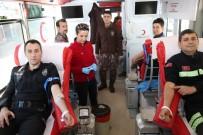 Tunceli Emniyetinden Kan Bağışına Destek