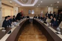 ZONGULDAK VALİSİ - BAKKA Şubat Ayı Yönetim Kurulu Toplantısı Karabük'te Yapıldı