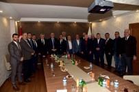 ESNAF ODASı BAŞKANı - Başkan Ergün'den MESOB'a Ziyaret