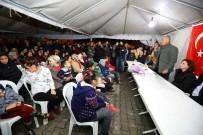 OYMAPıNAR - Başkan Sözen'e Oymapınar'da Büyük İlgi