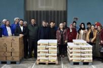 MHP Gümüşhane Belediye Başkan Adayı Varan'dan Kınalı Kuzulara Pestil Ve Köme